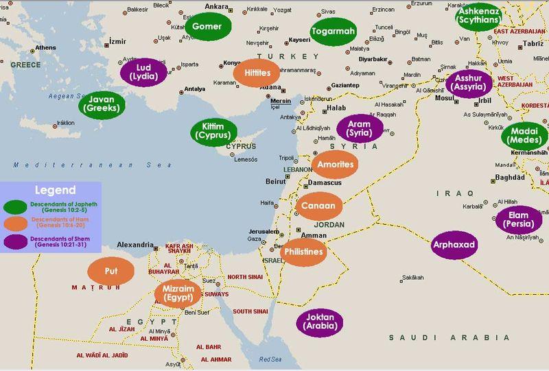 Genesis nations