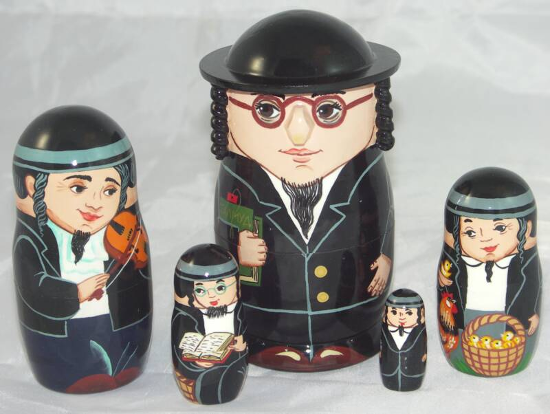 Rabbis dolls