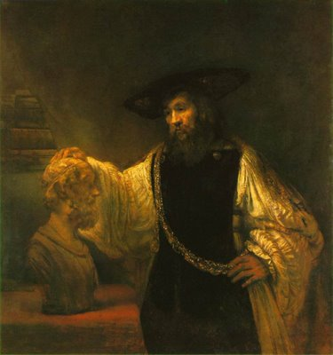 RembrandtAristotle ContemplatingBustHomer